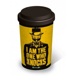 Taza de viaje I am the one who knocks Breaking Bad