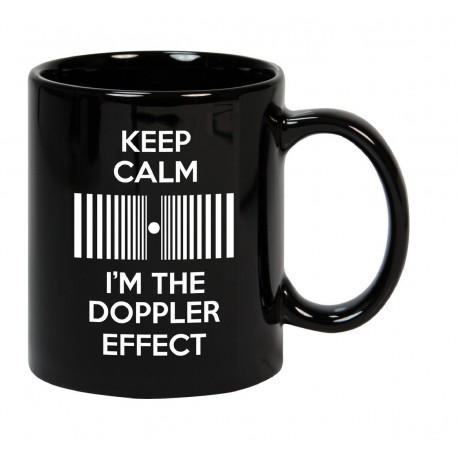 Taza Keep Calm I'm the Doppler effect