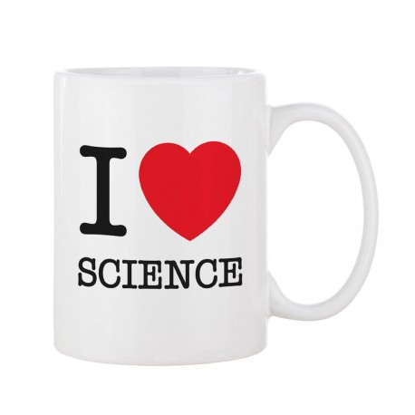 Taza I Love Science