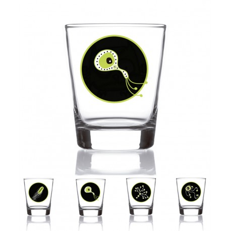 Set 4 vasos licor Monsters