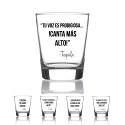 Set 4 vasos licor Drink