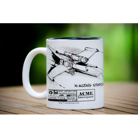 Taza X-Wing Star Wars