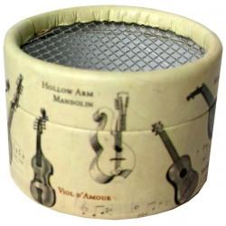 Caja cartón para mecanismo musical Instrumentos
