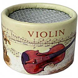 Caja cartón para mecanismo musical Violines