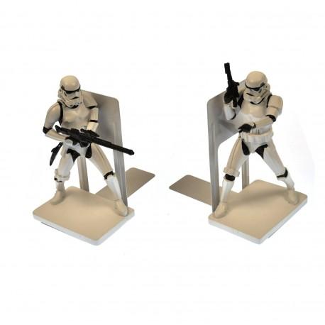 Soporte libros Darth Vader y Stormtrooper Star Wars