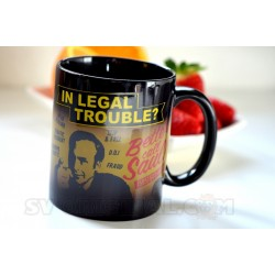 Taza Better Call Saul sensitiva al calor