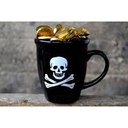 Taza Calavera Pirata