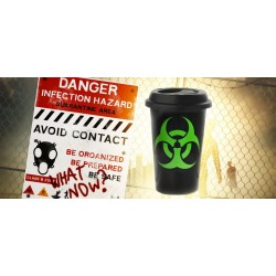 Taza Take Away Biohazard