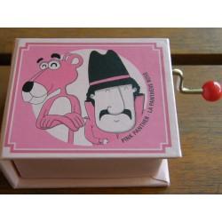 Libro con mecanismo musical La Pantera Rosa