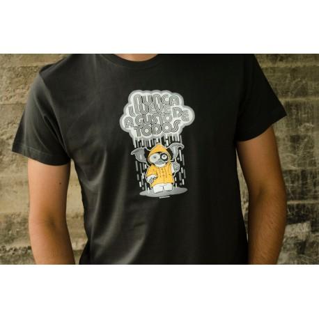Camiseta Nunca llueve a gusto de todos