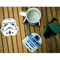 Pack de 4 posavasos Star Wars