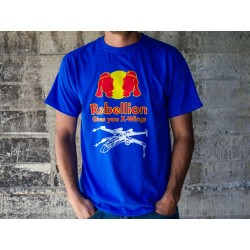 Camiseta Rebellion Gives you X-Wings