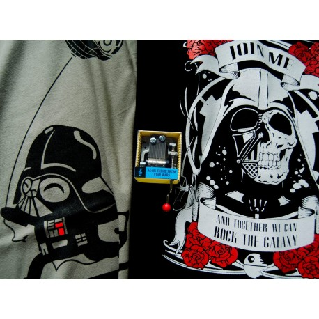 Camiseta Baby Vader