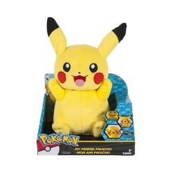 Peluche Pikachu parlante 30 cm.