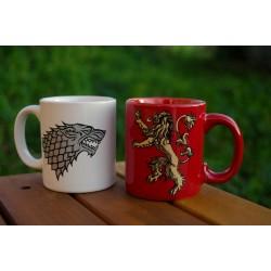 Set 2 minimugs Stark & Lannister