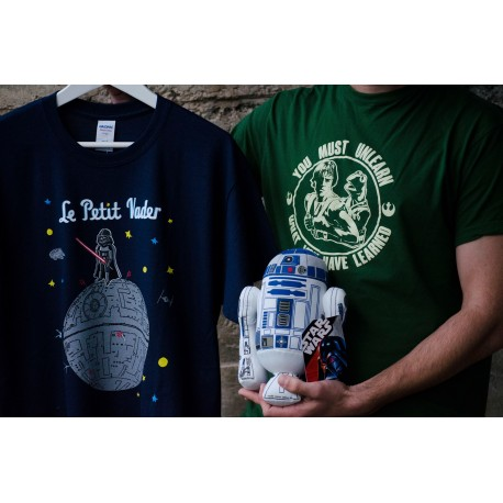 Camiseta Le Petit Vader + Maestro Gustavo + regalo peluche R2D2