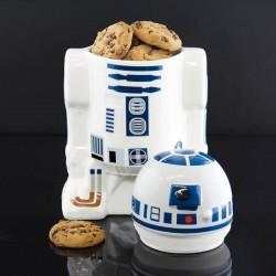Bote galletas de cerámica R2D2