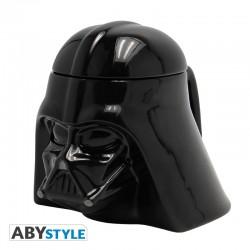 Taza Darth Vader 3D cerámica con tapa Star Wars