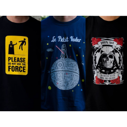 Pack camisetas Star Wars