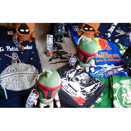 Dos camisetas Star Wars + peluche de regalo