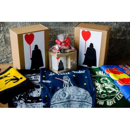 Mug Love Vader + camiseta Star Wars