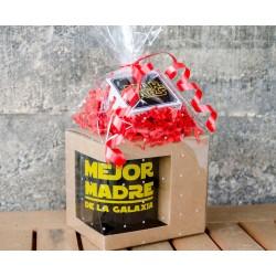 Pack taza Mejor Madre de la Galaxia + caja música Star Wars