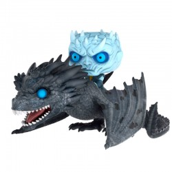 Figura Night King & Icy Viserion Juego de Tronos Pop Funko