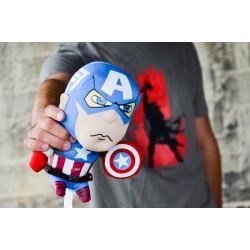 Peluche Capitán América con sonido + camiseta regalo