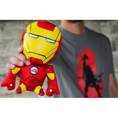 Peluche Iron Man con sonido + camiseta regalo