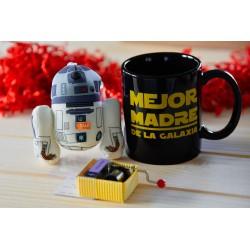 Pack peluche + cajita música + taza Mejor Madre de la Galaxia