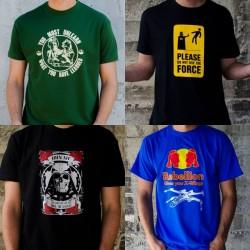Pack 4 camisetas frikis talla M