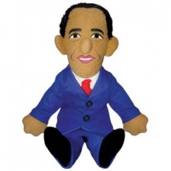 Peluche Obama Little Thinkers
