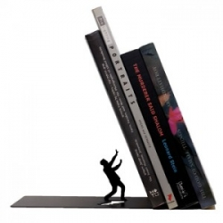 Sujeta libros Falling Bookend