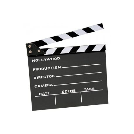 Claqueta cine Hollywood grande