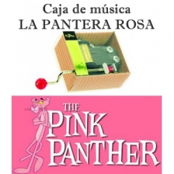 Caja de música La pantera Rosa