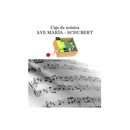 Caja de música Ave María - Schubert