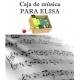 Caja de música Para Elisa - Beethoven