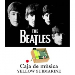 Caja de música Yellow Submarine - The Beatles