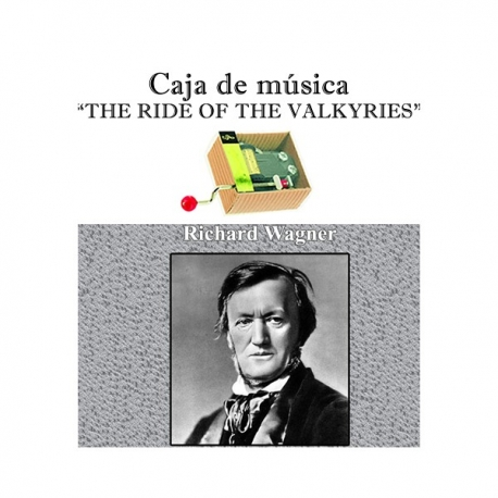 Caja de música The Ride of the Valkyries - Wagner
