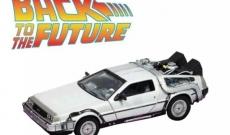 La maqueta de la máquina del tiempo de Doc: El DeLorean de Regreso al Futuro.